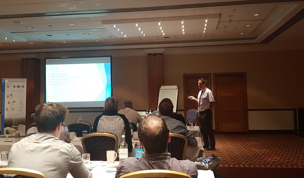 Powder flow seminar hosted by Freeman Technolog